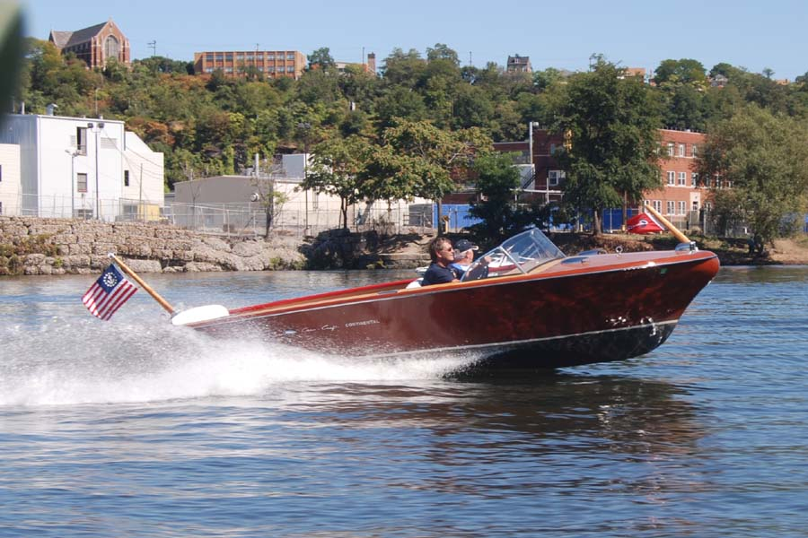 1957 Chris Craft Continental With His 1957 Chris Craft